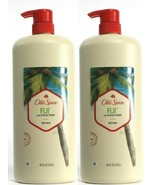 (Pack of 2) Old Spice FIJI With Palm Tree Body Wash Fresh Clean Feeling 40 oz - $36.37