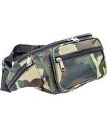 Water-Resistant Camo Fanny Pack Waist Travel Pouch Outdoor Hip Belt Bag - $8.95