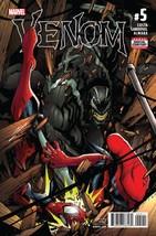 Venom #5 Feb 2017 Sandoval Cover Mike Costa Story 1st Print MarvelComics - $6.92