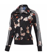 New Adidas Firebird Track Top Floral Roses Jacket sweater for women's F7... - $119.99