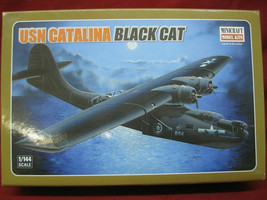 USN Catalina Black Cat 1/144 Scale Model Kit by Minicraft - $24.74