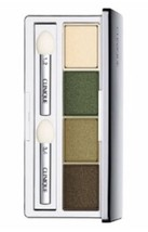 New CLINIQUE All About Eye Shadow Quad 05 On Safari 2A Lemongrass 07 But... - $24.95