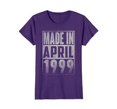 Uncle Shirts -   Made In APRIL 1999 Vintage Straight Outta 19 Years Old Being Wo image 4