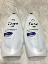 2 Dove Deep Moisture Body Wash 22 Oz each BB20 - $6.79