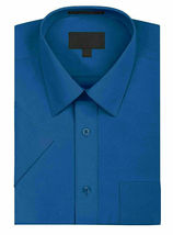 New Open Box Repackaged Men's Short Sleeve Dress Shirts Multiple Colors image 11