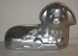 Wilton Baby Lamb Easter Stand-Up #502-2014 2-Piece 3D 3-D Cake Pan Alumi... - $18.81