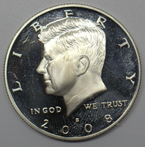 2008 S KENNEDY HALF DOLLAR 90 % SILVER PROOF COIN # DBW - $15.83