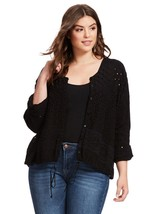 Johnny Was grande taille 2x Veste œillet BOHO tumizoo Style T-shirt boutons - $49.48