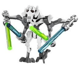 LEGO Star Wars - General Grievous WHITE minifigure 2014 - $18.25