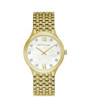 Wittnauer Ladies WN4111 Cosmopolitan Watch Genuine Diamond Gold tone - $430.65