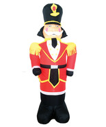 7Ft INFLATABLE TOY SOLDIER NUTCRACKER Lighted Holiday Yard Decor - $51.08