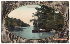 THOUSAND ISLANDS Ontario, STOVE PIPE CHANNEL, ST LAURENCE RIVER Canada p... - $3.50