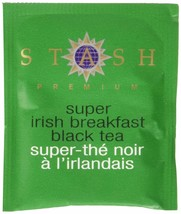 Stash Tea Super Irish Breakfast Black Tea 100 Count Box of Tea Bags in F... - $29.08