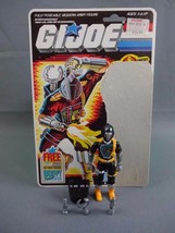 Vtg 1985 GI Joe Cobra BATS Android Trooper Action Figure Complete w/ Car... - $40.07