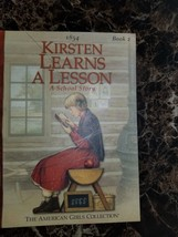 American Girl: Kirsten Learns a Lesson A School Story Book 2 - $4.10
