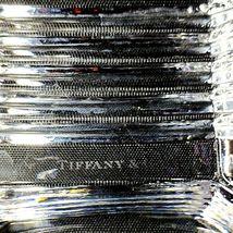 "1 (One) TIFFANY & CO METROPOLIS Crystal 4"" Bowl Square - Signed image 4"