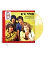 Icon - The Who Exclusive Limited Edition Custard Yellow Vinyl LP_Record - $47.99