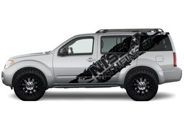 Vinyl Graphics Decal Logo Splash Wrap for 2004-12 Nissan Pathfinder Matt... - $93.46