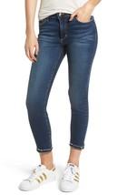 Joe's Jeans Flawless The Icon Mid Rise Skinny Crop in Madisen Blue sz 31 - $53.26