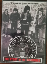 END OF THE CENTURY -The Story of the RAMONES DVD - $7.95