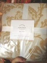 Pottery Barn Arista Duvet Cover Set Prailine Queen 2 Standard Sham Palam... - $184.00