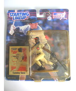 2000 Starting Lineup Sammy Sosa Chicago Cubs - Figure with Collector Card - $7.00