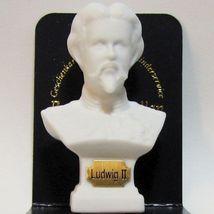 Dollhouse Bust of King Ludwig II 1.929/0 Reutter Porcelain Miniature  - $6.11