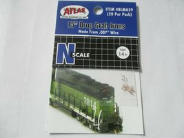 "Atlas # BLMA59 15"" Drop Grab Irons .007 Wire 20 Pack N-Scale image 5"