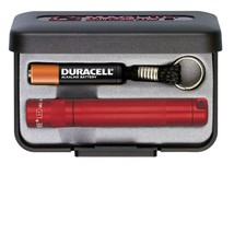 MagLite Solitaire LED AAA Flashlight Presentation Box, Red - $24.29