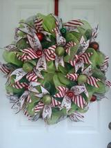 xmas wreaths,christmas wreaths,holiday wreaths,front door wreaths,xmas g... - $65.00