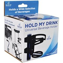 Blue Jay Hold My Drink Universal Beverage Holder, Use With All Your Mobi... - $14.59