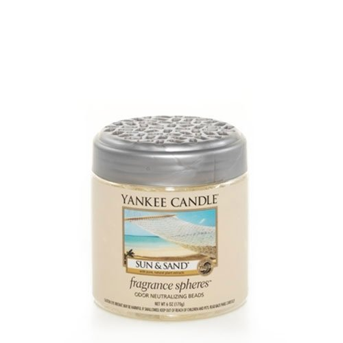 Yankee Candle Sun & Sand Fragrance Spheres Odor Neutralizing Beads, Fresh Scent