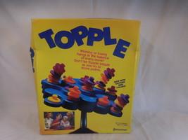 Pressman Topple game  vintage 1999 a game everyone loves - $14.02