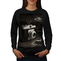 Old Photo Camera Jumper Vintage Foto Women Sweatshirt - $18.99