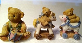 Cherished Teddies Miniature 979341 Hamilton Nativity Set Drummer Boy/ S... - $32.00