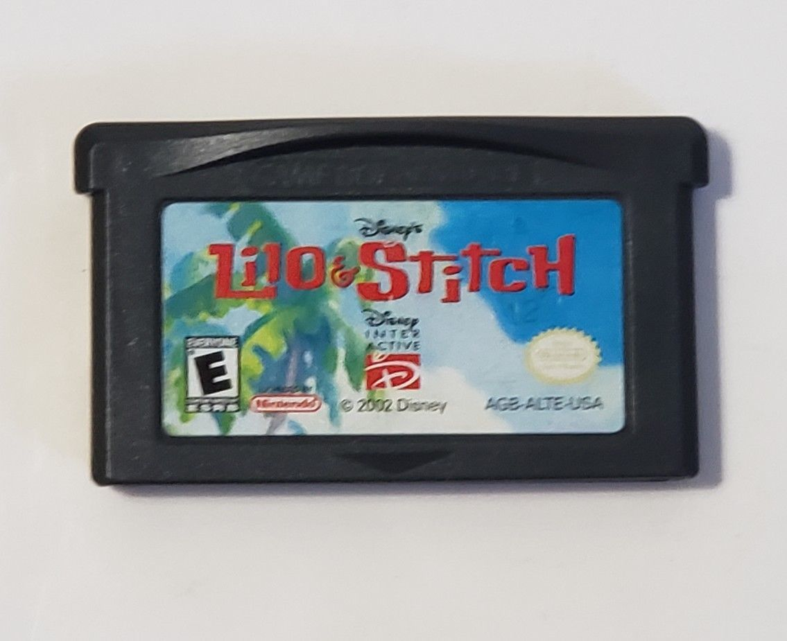 Lilo & Stitch - Nintendo GameBoy Advance GBA Video Game Cartridge Disney