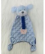 Swiggles Blue Puppy Dog Baby Lovey Security Blanket Pacifier Holder Swiggies B71 - $24.99