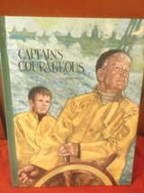 Captains Courageous Oversize Pictorial Hardback Classics Publishing Corp... - $12.99
