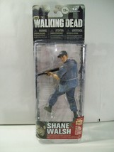 New Amc The Walking Dead Shane Walsh Flashback Action Figure Mcfarlane 2014 - $19.55