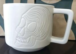Halloween 2019 12oz Starbucks  Skull Coffee Mug HTF New - $29.58