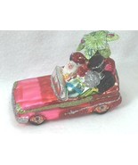 Tropical Santa Claus in Convertible Christmas Ornament Palm Tree 25363  - $29.69