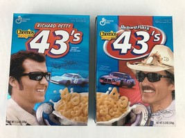 General Mills Richard Petty 43's Collectible Empty Cereal Box 2002 Lot 2 - $24.97