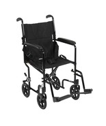 Drive Medical Lightweight Transport Wheelchair Red 17'' - $129.86