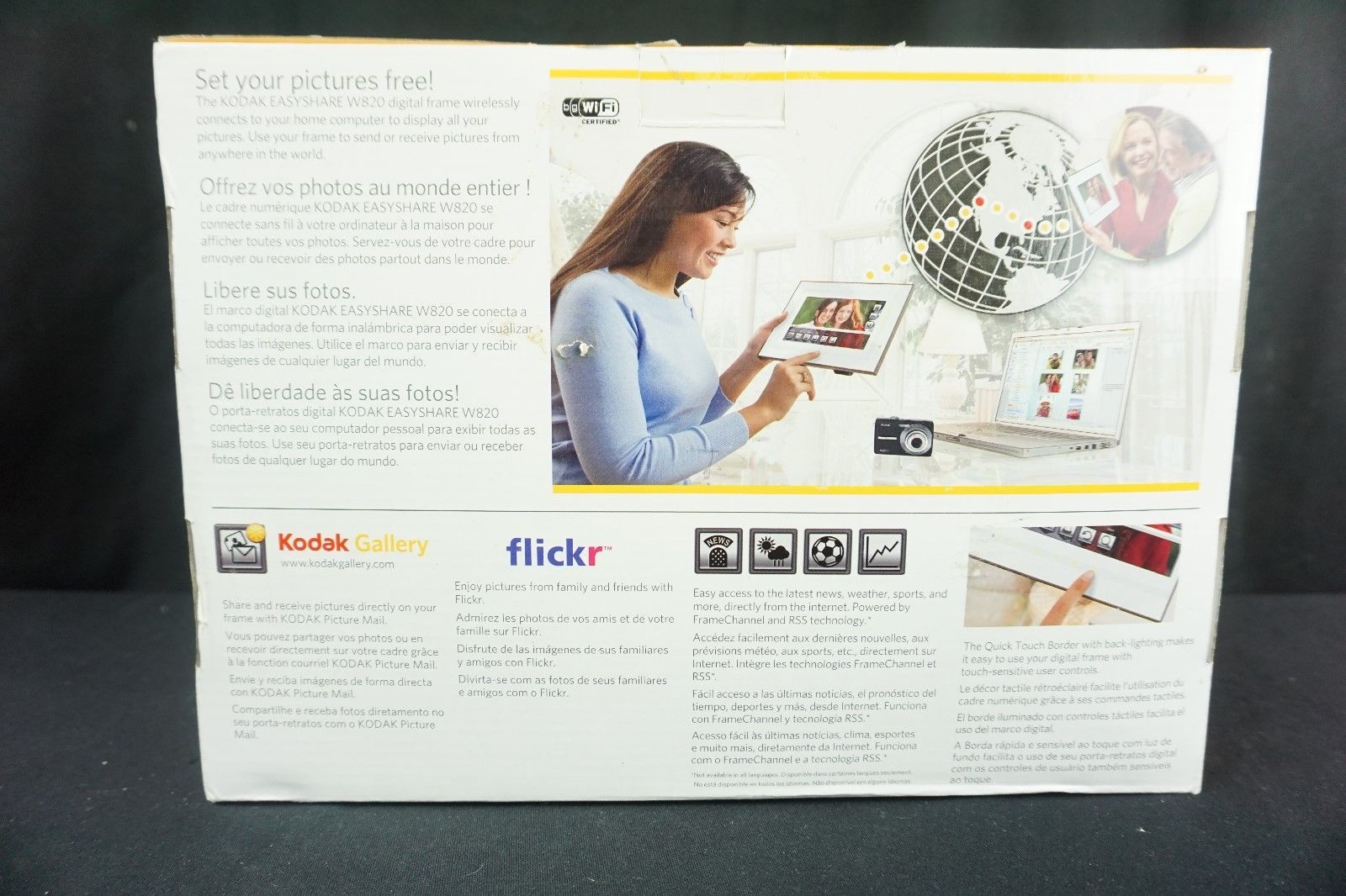 Kodak Easyshare W820 8-Inch Wireless Digital and 50 similar items