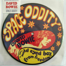 """DAVID BOWIE Space Oddity 40th ANNIVERSARY PICTURE DISC 45 RPM VINYL 7"""" SINGLE image 1"""
