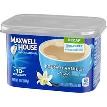 Maxwell House International Decaf Sugar Free French Vanilla  4 oz (Pack ... - $79.19