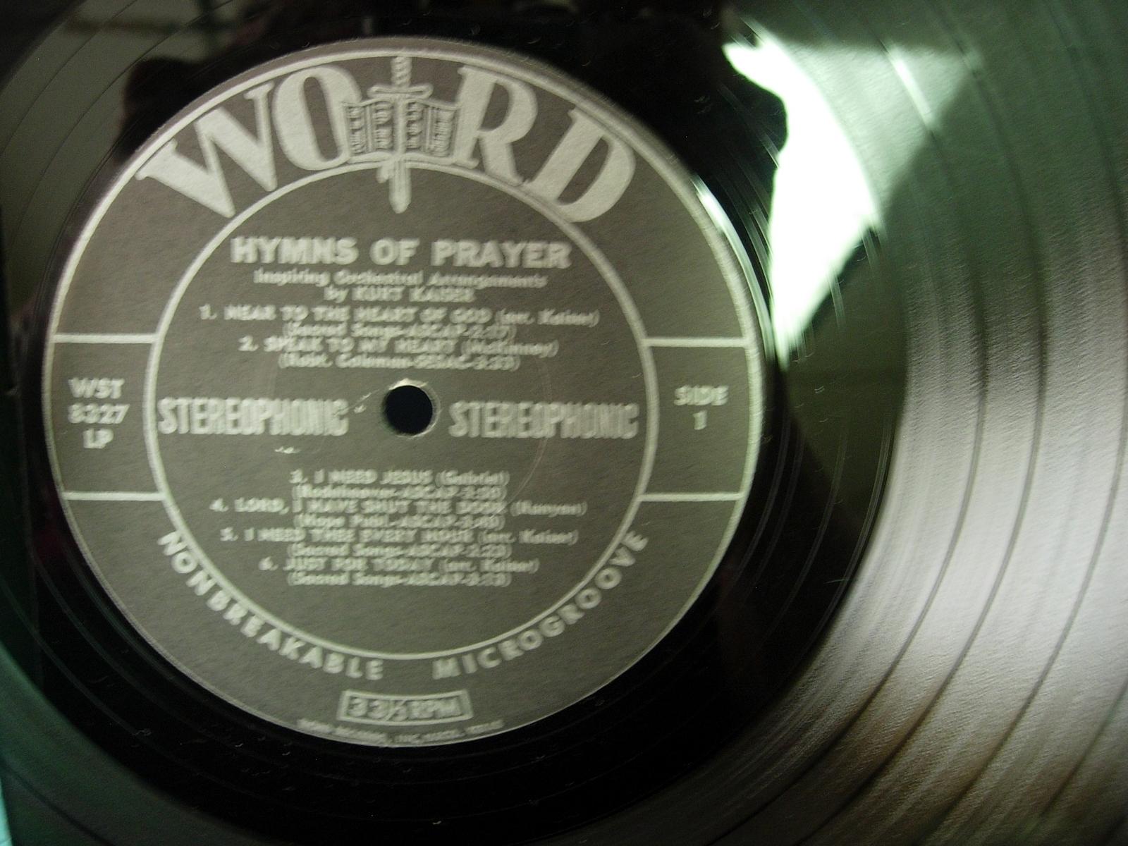 Kurt Kaiser - Hymns of Prayer - Word Records WST-8327