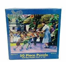 Wizard of Oz puzzle Pressman sealed Turner Judy Garland 50 piece Lollipop guild - $39.55