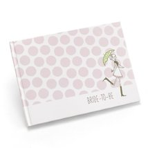 Hortense B. Hewitt Wedding Accessories Bridal Shower Guest Book, White w... - $17.45