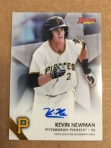 2015 Bowman Best Kevin Newman #B15-KN Auto Baseball Card Pirates NM/M Co... - $9.99